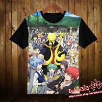 Anime Assassination Classroom Clothing Cool Unisex Short Sleeve T-Shirt Shirt