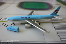 Jet-X Korean Air Airbus A300-600 with GSE Diecast Model 1:400