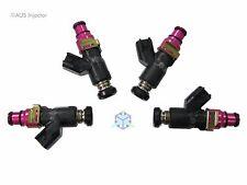 Set of 4 AUS Injectors 550 cc HIGH FLOW fit Eclipse, Lancer EVO & 240SX [C4-E]