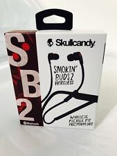 Skullcandy Smokin Buds 2 In-Ear Sound Isolating Wireless Headphones (S2PGHW-521)
