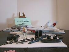 VTG HASBRO GI JOE 1983 SKYSTRIKER XP-14F NEAR COMPLETE ALL ORIGINAL LOOK AT THIS