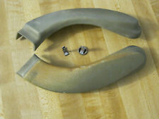 1966-1972 Chevelle Front Seat Back Hinge Covers & Fasteners, Tempest, Cutlass