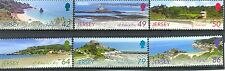 JERSEY scenari-sepac Issue 2011 Gomma integra, non linguellato Set di 6-viste in Jersey-TURISMO
