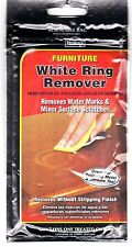 Furniture White Ring Remover~removes marks from wood finishes
