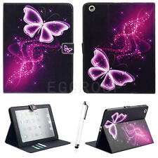 "Fr Apple iPad 2 3 4 Mini Air Pro iPad 9.7"" (2017) Leather Stand Smart Cover Case"