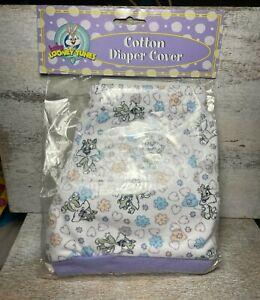Vintage Warner Bros. Baby Looney Tunes Cotton Diaper Cover Baby Bugs Bunny