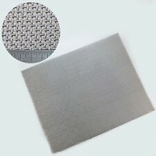407mm x 330mm-  VERY Heavy Duty Stainless Steel Woven Mesh SS321 - 1mm Wire