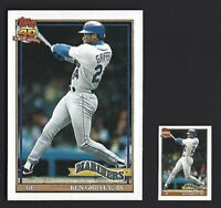 1991 KEN GRIFFEY JR TOPPS 40 YEARS OF BASEBALL CARDS #790 now including MINI!