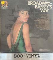 STILL SEALED -Broadway - Bassey's Way Shirley Bassey vinyl LP album record