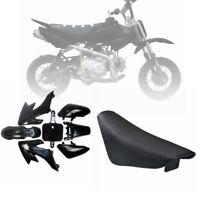 Pit Dirt Bike Black PLASTIC + Flat SEAT CRF50 50cc 110cc 125cc SSR SDG Pitbike