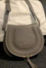 """Chloe """"marcie"""" medium crossbody/cashmere grey🤩Condition"""