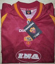 Maglia Totti 1997 1998 Diadora Roma Ina Assitalia Large Home Jersey shirt
