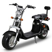 Scooter E-scooter with big wheels 1500W 45km 35km/h 2 seats New