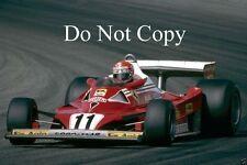 Niki Lauda Ferrari 312 T2 Francés Grand Prix 1977 fotografía 1
