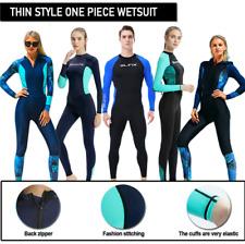 Men Womens Quick Dry Full Body Wetsuit Swim Surf Wet Surf Snorkeling Swimwear