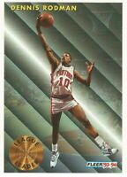 Dennis Rodman League Leader Fleer 1993/94 - NBA Basketball Card #227