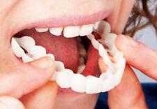 Snap On Teeth Cosmetic Secure Smile Instant Natural Upper Veneers Dental False