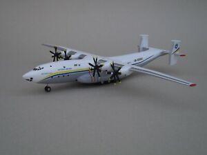 An-22 Scale 1:200 Handmade Exclusive Ukrainian Aircraft Model on Landing Gear