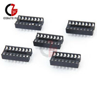 50PCS 16-Pins DIP IC Sockets Adaptor Solder Type Socket