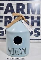 Rae Dunn Birdhouse Blue WELCOME NEW Spring '20 Release