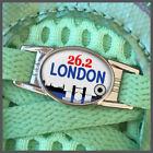 London 26.2 Marathon Runners Shoelace Sneaker Shoe Charm or Zipper Pull