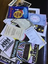 Big Lot of Vintage Sheet Music Song Books Piano Organ Guitar Vocals Accordion +