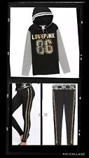 NWT Victoria Secret PINK large Bling Set Hoodie And Leggings SOLD OUT  WOW