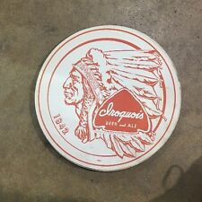 Vintage Iroquois Beer Paper Tray Liner BUFFALO New York International 1955