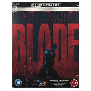 Blade 4K Steelbook - Collector's Set - UK Release Blu-Ray