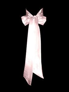 DUSTY BLUSH PINK Satin Wedding Fancy Dress Party Ribbon Sash Tie Belt Band Bow