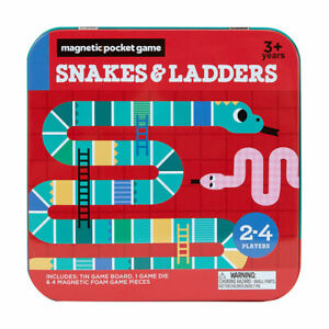 Magnetic Foam Snakes and Ladders Fun Family Friendly Indoor Outdoor Travel Game