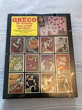 Greco The Mythology Game of Skill and Chance The Perfection Form Company Nib