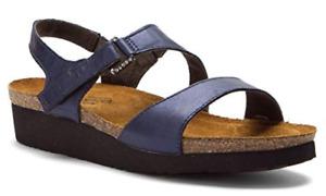 Naot Pamela Polar Sea Leather Strappy Sandal Women's sizes 5-11/36-42 NEW!!!