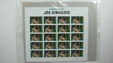 Usps Major League Baseball Joe Dimaggio Sheet Of 20 Mnh Stamps Sealed