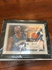Kevin Garnett Uda Game-Used Collection Framed 3/40 Timberwolves