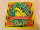 """Vintage Moosehead Beer Canadian Lager Mini Glass Sign 6"""""""