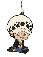 One Piece PVC Strap Keychain Charm New World Dressrose ~ Trafalgar Law @OP00001