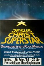 JESUS CHRIST SUPERSTAR - 1986 - Plakat - Musical - Poster - Recklinghausen