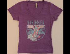Van Halen Junior Size Medium Purple T-Shirt (A)