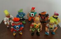 Vintage Ace Novelty Stone Protectors (Lot of 8) Action Figure's- 1993