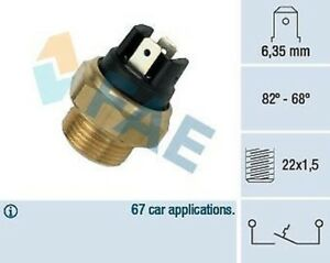 Sensor Temperature Seat/ Fiat 124 - 127 - 128 131 132 Peugeot 404 504 82 68