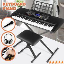 High-End 61 Key Digital Music Electronic Keyboard Portable Piano Organ Xmas Gift