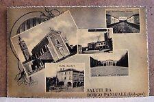 Saluti da Borgo Panigale (Bologna) [piccola, b/n, non viaggiata]