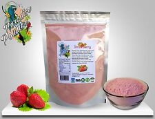 Strawberry freeze dried Powder 16oz (1lb) Great taste Vitamin C Paradise Powder