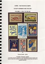 (I.B-CK) Cinderella Catalogue : Poster Stamps : Cars (Volume II)