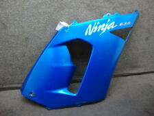 05 2005 KAWASAKI ZX600 ZX636 ZX-6R B2 NINJA FAIRING MIDDLE SIDE COWL RIGHT #L104