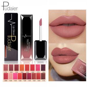 Pudaier Velvet Matte Lip Gloss Long Lasting Liquid Lipstick Lip Glaze Makeup New
