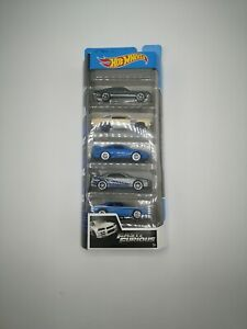 NEW! Hot Wheels Fast and Furious 5 Pack Car Set / 2020 NEW RELEASE