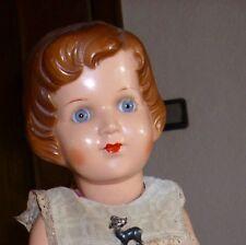 Celluloid Puppen Mädchen gez. Schutzmarke Herz III 38 Bruno Schmid, bespielt