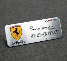 FERRARI modena, Italy, special edition metal ferrari car badge
